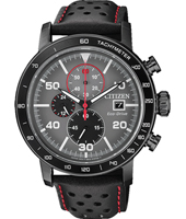 CA0645-15H Sport Eco-drive 44mm Solar Powered Chronograph with Tachymeter