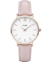 CL30001 Minuit Ladies watch on pink leather strap