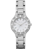 Broadway  Glitzy Steel Ladies Watch