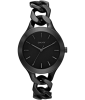 Chambers Reloj trendy color negro