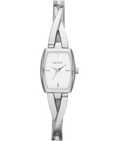 Crosswalk Trendy Silver ladies watch