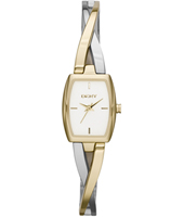 Crosswalk Trendy Bicolor Gold Ladies Watch