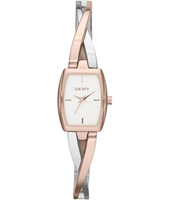 Crosswalk Trendy Bicolor Rose Ladies watch