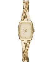 Crosswalk Trendy Gold Ladies watch