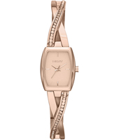 Crosswalk Trendy Rose Gold Ladies watch