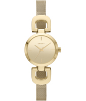 Reade D.Link  Fashionable Gold Ladies Watch with Mesh Strap