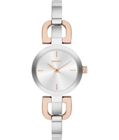 Reade D-Link Fashionavle Bicolor Rose Ladies Watch