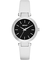Stanhope Silver, Black & White Ladies Watch