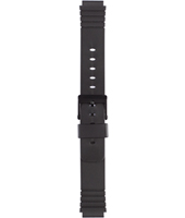 Silicona<br />U2876 Enterprise strap 16mm Black