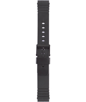 Silicona<br />U2876 Enterprise strap 18mm Black