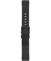 Silicona<br />U2876 Enterprise strap 20mm Black