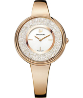 5269250  Crystalline Pure 34mm Swiss Made Rose Gold Ladies Bangle Watch