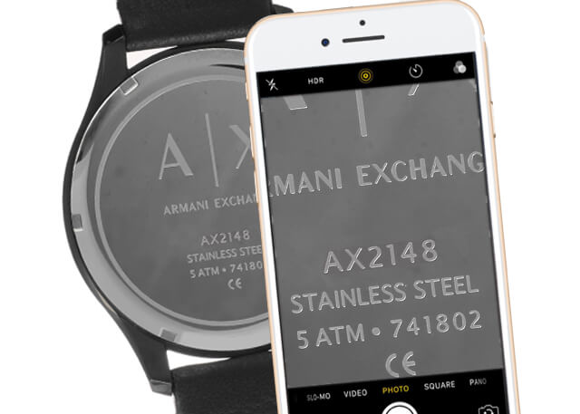 316fc6e0045 Correas para relojes - correas Armani Exchange online