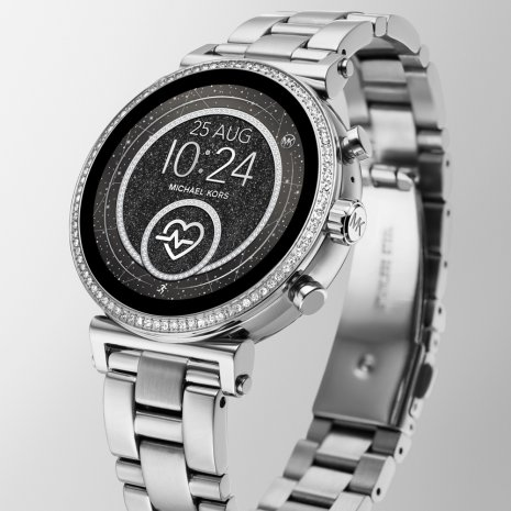 Reloj Plateado Smart Digital